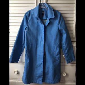 Gap trench coat pretty SKY BLUE